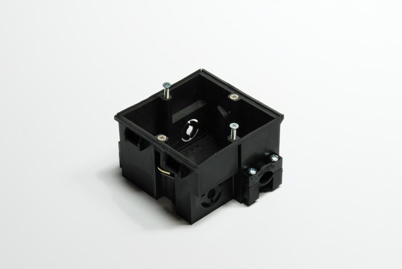Unterputzsteckdose einfach (230V, Telefon, Fax, Netzwerk)