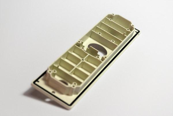 Elektronikgehäuse mit eingespritzter Dichtlippe